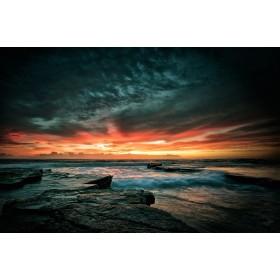 Ηλιοβασίλεμα-Θάλασσα